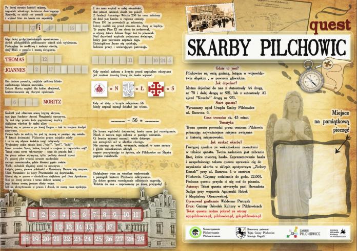Skarby Pilchowic - gra
