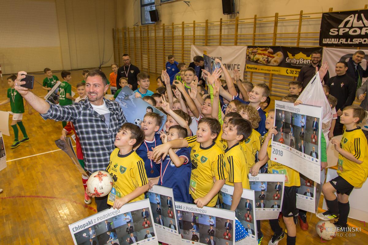 Jerzy Dudek na Piłkarskiem Turnieju Noworocznym 2018