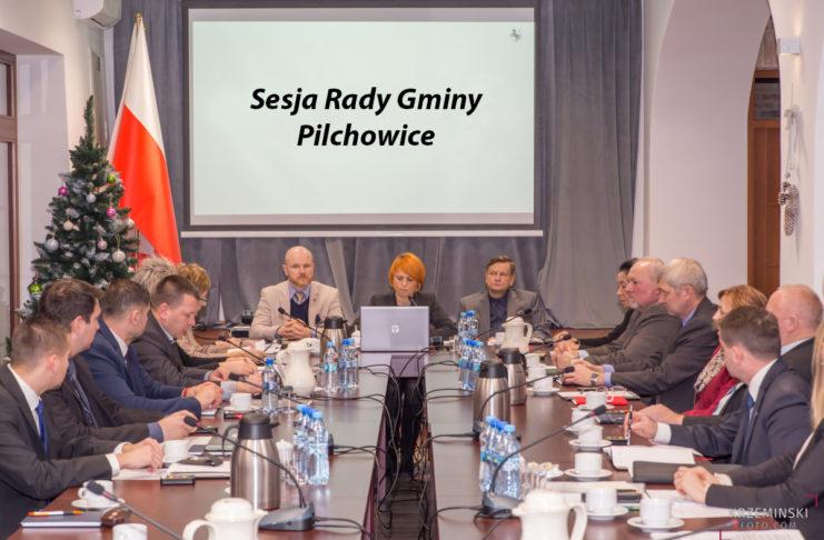 zaproszenie na sesję Rady Gminy Pilchowice