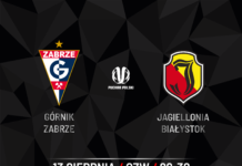 Górnik Zabrze - Jagiellonia Białystok