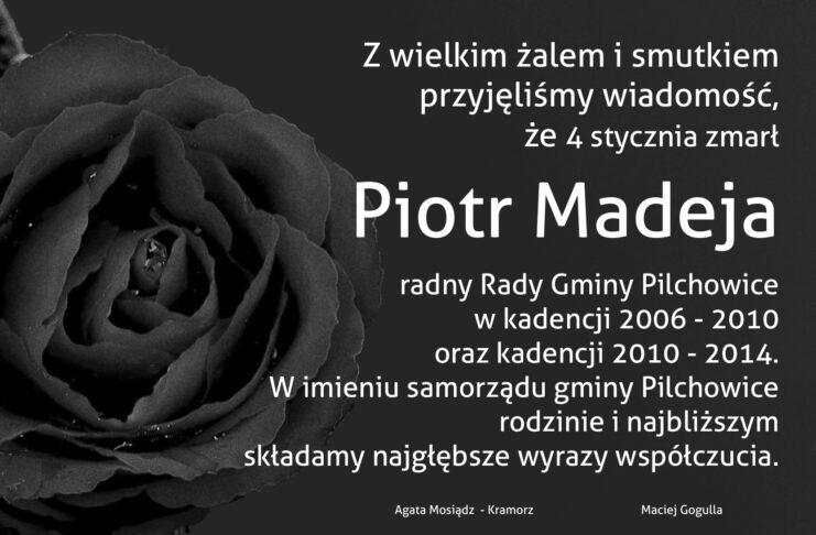 zmarł Piotr Madeja