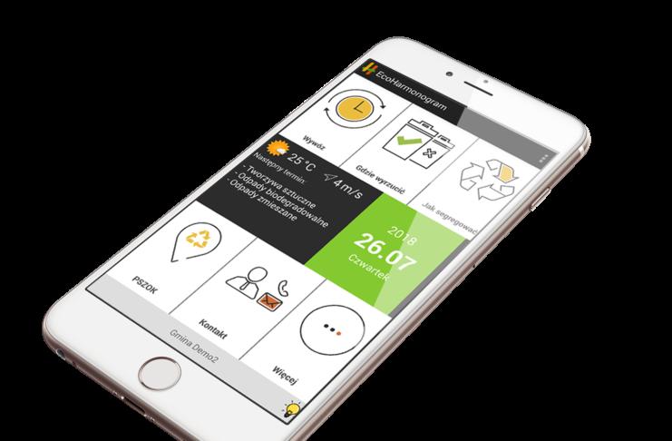 aplikacja do zarządzania gospodarką odpadami komunalnymi
