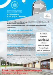 Powszechny Punkt Szczepień w Pilchowicach