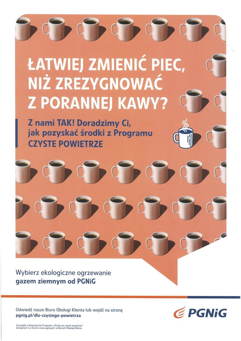 plakat programu informacyjnego Programu Czyste powietrze