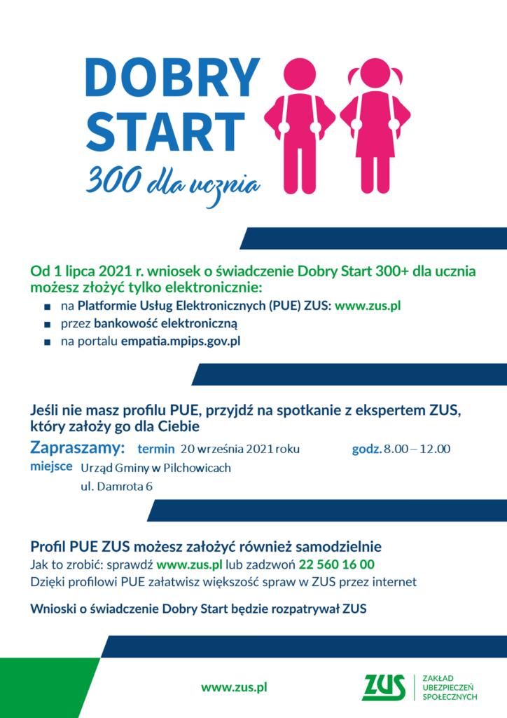 300 plus Dobry Start spotkanie PUE_UG w Pilchowicach